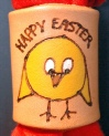 PYROGRAPHY EASTER CHICK WOGGLE