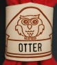 BRANDED OWL NAME WOGGLE