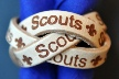 3 STRAND WOVEN BRANDED SCOUT WOGGLE