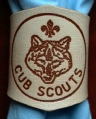 NATURAL BRANDED CUB WOGGLE