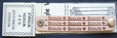 SCOUT BRANDED DIY THREE STRAND WOVEN WOGGLE