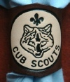 EMBOSSED CUB WOGGLE